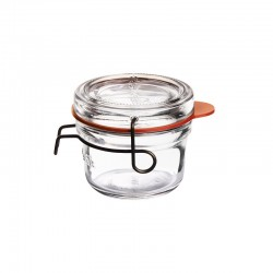 LUIGI BORMIOLI LOCK EAT FOOD JAR 125 ML PACKING 6 PCS