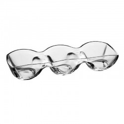 BANQUET RELISH 3 PART DISH 39X13 CM