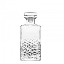 TEXTURES DECANTER 750 ML WITH GLASS STOPPER