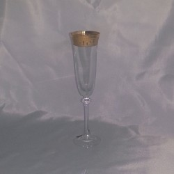 ALEXANDRA / ASIO GOLD (VERSA) CHAMPAGNE GLASSES 190 ML