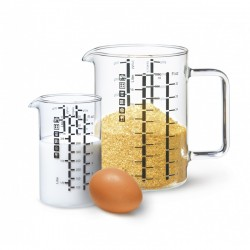 COOKING AND MEASURING JUGS SET 2 PCS