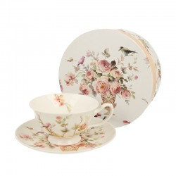 CUP 200 ML WITH SAUCER ANNA