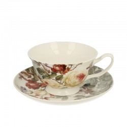 CUP 200 ML WITH SAUCER ZAHRA