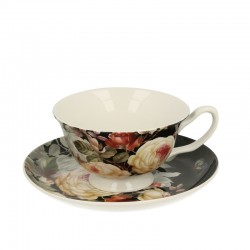 CUP 200 ML WITH SAUCER WARDA
