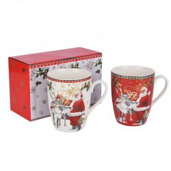 2 360 ML MUGS, SET