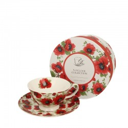 CUP 200 ML LINA WITH SAUCER