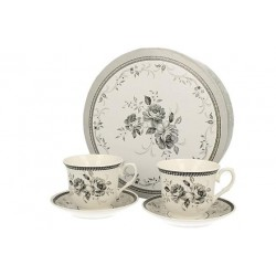 COLIN CUPS 220 ML WITH SAUCERS, 2 PCS